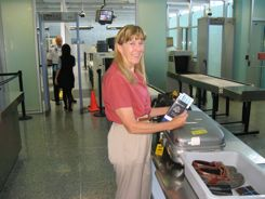 Airport help - security, flights and arrivals