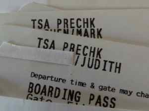 Boarding passes may show TSA PreCheck