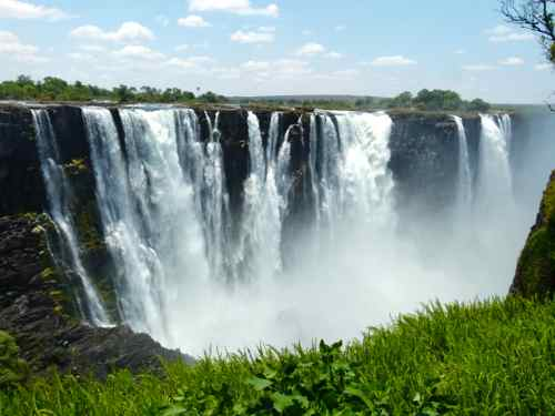 Victoria Falls from Zimbabwe side