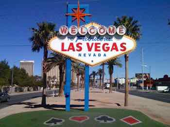 Las Vegas welcomes tourists and gambler and...