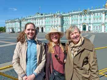 Winter Palace and Hemitage, St. Petersburg