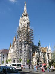 Matthias Church on Trinity Square