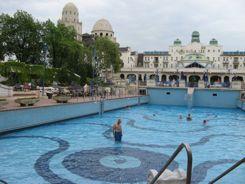 Budapest Gellert Baths - Outdoor Pool