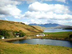 Lakes and the Cuillin Isle of Skye