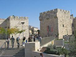 Jaffa Gate into old Jerusalem