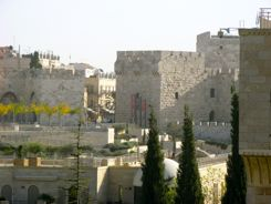Jaffa Gate from our hotel