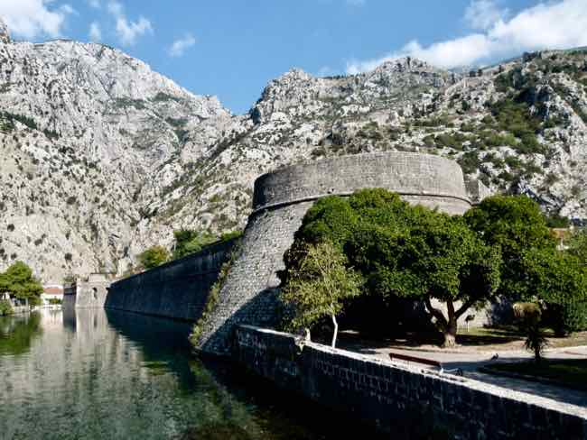 Walls and Moat of Kotor, Montenegro