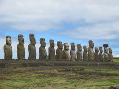 Easter Island Statues - Rapa Nui Moai
