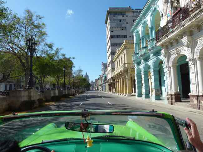 Cruising Old Havana