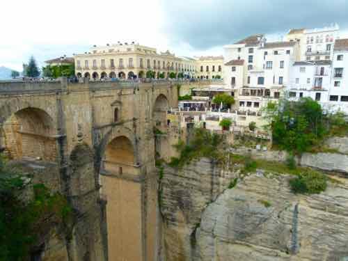 Ronda, Spain with Puente Nuevo