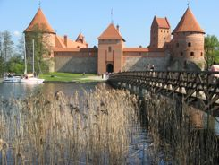 Trakai Island Castle, Lithuania - We found a great little hotel