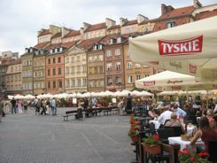 Warsaw Old Town Market Place