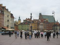 Warsaw Poland Old Town