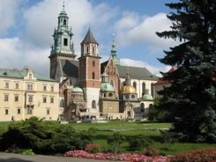 Wawel Hill Cracow Poland