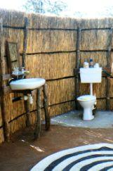 safari tented camp toilet - who knew?