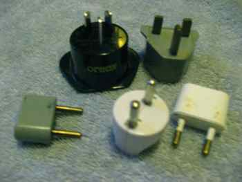 Foreign adaptors for foreign plugs