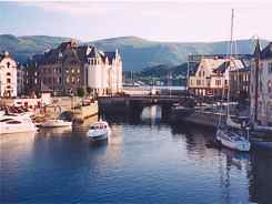 Alesund - On Our Norway Fjord Drive