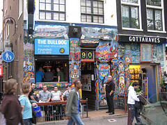 Some Amsterdam coffeeshops LOOK psychedelic