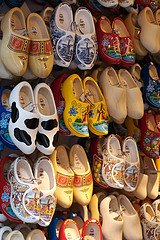 Wooden shoes in Amsterdam