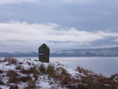 MacEwen Castle lovely in snow on Christmas Eve 2010