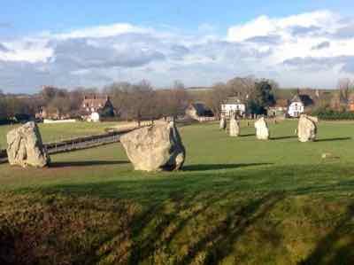 Avebury Henge Monument