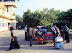 Airport baggage claim Myanman (Burma)