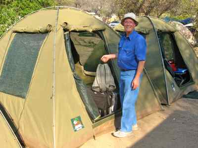 Basic mobile tented safaris can be economical