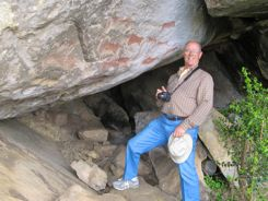 Bushman Rock Art Underberg South Africa