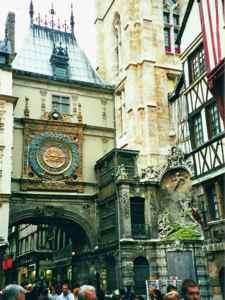Rouen Clock Tower - the Gros-Horloge