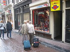 Amsterdam coffeeshops confuse some tourists!