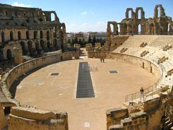 Roman Amphitheatre at El Jem, Tunisia
