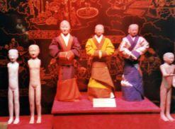 Han Yang Ling Museum restored soldiers