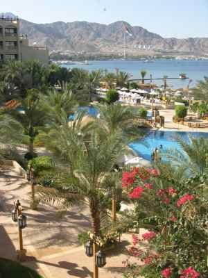 Hotel in Aqaba Jordan on the Red Sea