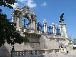 Budapest Royal Palace Gates