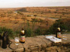 Kili Beer not tap water in Tanzania