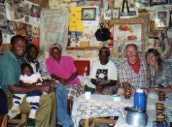 Tea with a Kenyan family
