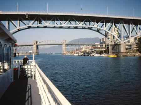 Vancouver Harbor Cruise - Lion's Gate Bridge