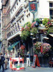 Pub in London on Whitehall Street