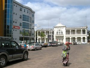 Downtown Maputo Mozambique