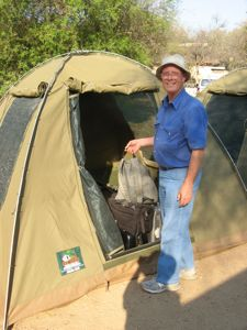 Camping in Kruger National Park South Africa