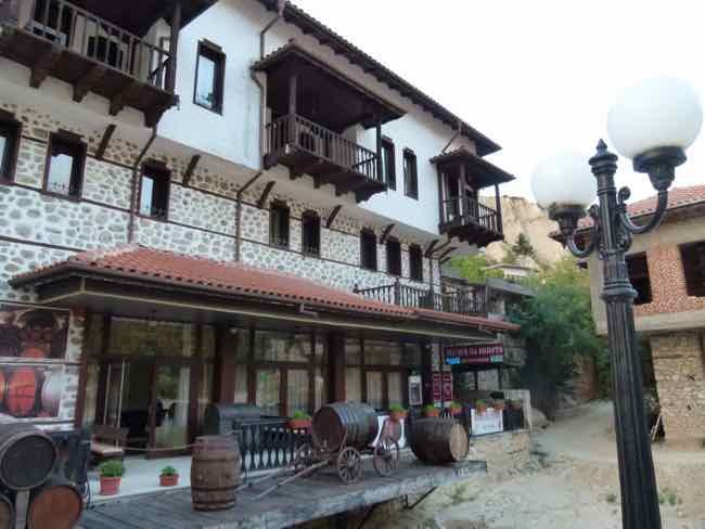 Melnik, Bulgaria typical architecture
