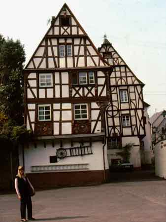 Punderich - Another cute little town along the Mosel River