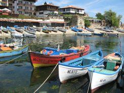 Island town of Nesebur Bulgaria
