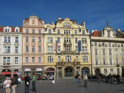 Art Nouveau Buildings Prague