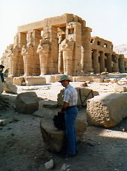Ramses Temple Valley of the Kings Egypt