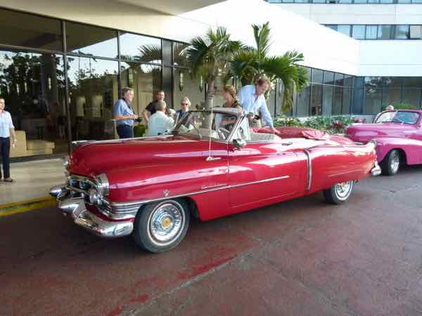 Tours hire groups of classic cars