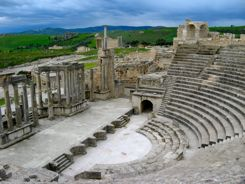 Roman Ruins at Dougga, Tunisia