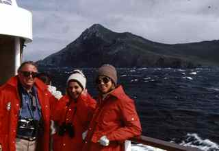 Rounding Cape Horn South America could cause sea sickness!
