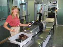 Airport Security Checkpoints are a fact of life these days.