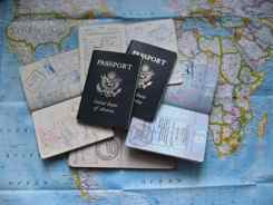 Take passports, visas, and important documents with you